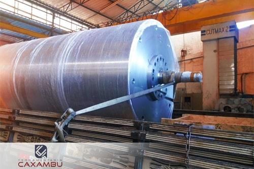Fabricação de cilindros