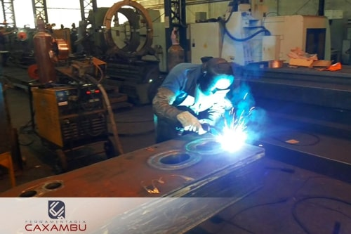 Recuperação de equipamentos industriais